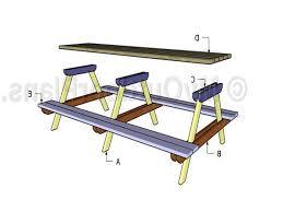 superlative long picnic table plans 884 for dazzle side tables