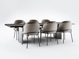 100 Minotti Dining Table Fil Noir Chairs And Morgan Cinema 4D 3D Model