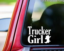 100 Redneck Truck Stickers TRUCKER GIRL Vinyl Decal Sticker 75 X 55 Country Cowgirl