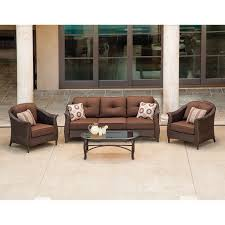 Sams Patio Furniture Covers by Exterior Black Wicker Wingback Chairs With Cushions And Lazy Boy