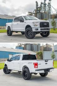 100 Tires For Lifted Trucks F150 2015 Pro Comp Suspension Lift Kit Toyo Open Country MT
