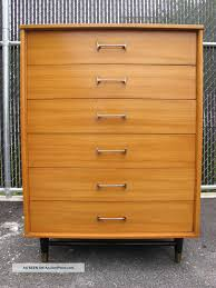 Walmart Dressers With Mirror by Furniture Teak Mid Century Dresser With Mirror On White Wall For