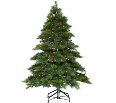 Bethlehem Lights Christmas Tree Storage Bag by Bethlehem Lights 5 U0027 Prelit Long Needle Pine U2014 Qvc Com
