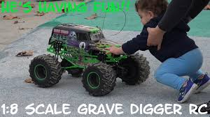 Playing His 1:8 Scale RC Monster Jam Truck Grave Digger At The ... Fs Ep Monster Trucks Some Rc Stuff For Sale Tech Forums Redcat Trmt8e Be6s Truck Cars For Sale Hobby Remote Control Grave Digger Jam By Traxxas 115 Full Function Dragon Walmartcom Adventures Hot Wheels Savage Flux Hp On 6s Lipo Electric 1 Mini Toy Car Bigfoot Monster Truck Rc 4x4 Rock Crawler Buy Saffire 24ghz Controlled Rock Crawler Red Online At Original Foxx S911 112 Rwd High Speed Off Road Vintage Run Ford Penzzoil Jrl Toys 4 Sale Worlds Largest Backyard Track Budhatrains