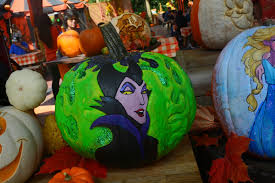 Maleficent Pumpkin Designs by Sasaki Time Awesome Pumpkin Carving Creations At Disneyland For