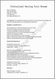 Professional Rn Resume Unique Sample For Nursing Tutor Ixiplay Free Of 88 Elegant Photos