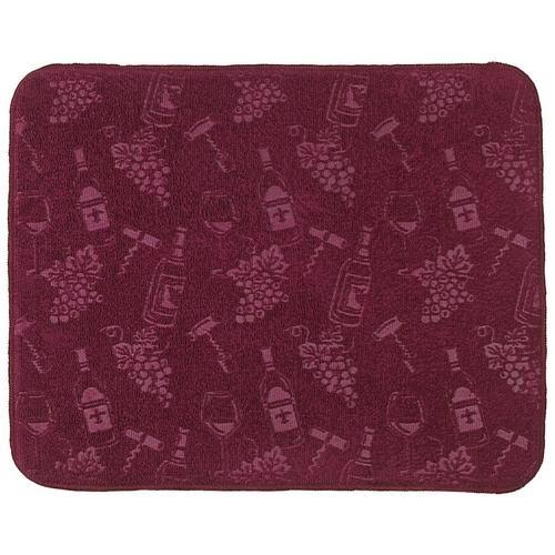 Kay Dee Designs Kitchen Countertop Drying Mat - Embossed Wine and Grapes