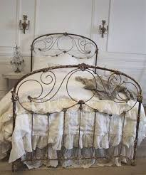 Antique Wrought Iron King Headboard by Best 25 Painted Iron Beds Ideas On Pinterest Iron Bed Frames