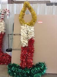 Donner And Blitzen Christmas Tree Ornaments by Huge Old Municipal Light Pole Decoration Score Municipal