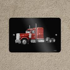 100 Truck To Trucker Semi Tractor Trailer Er Home Business Office Sign EBay