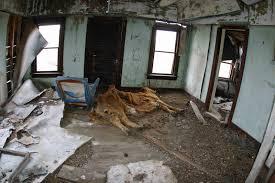 Farm House Inside Abandoned Dead Cow Photo Monte Dodge