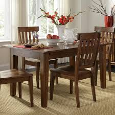 Havertys Dining Room Furniture by Solid Wood Leg Table With 3 Self Storing Leaves By Aamerica Wolf