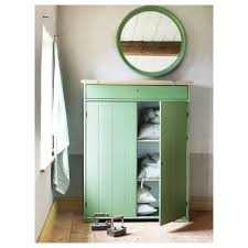 Ikea Pantry Cabinets Australia hurdal linen cabinet green 109x50x137 cm ikea