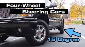 4 Wheel Steering Truck Beautiful Diy Steering Engine 4 Wheel 2 Motor ... Quadrasteer In Action 2005 Gmc Sierra 4 Wheel Steering Youtube Old Door Chevy Truck With Wheel Steering Imgur Wild 4ws Truggy Rccrawler 2018 New Gmc 2500hd 4wd Crew Cab Standard Box At Banks Tamiya 118 Rc Konghead 6x6 G601 Kit United Pacific Industries Commercial Truck Division Hot Wheels Year 2014 Monster Jam 124 Scale Die Cast Metal Body Sierra 1500 Z71 Offroad V8 Wheel Drive With Custom Rims Super Heres Exactly What It Cost To Buy And Repair An Toyota Pickup Truck Off Road Classifieds Chase