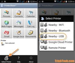 How to Print from Android Using the USB OTG Cable