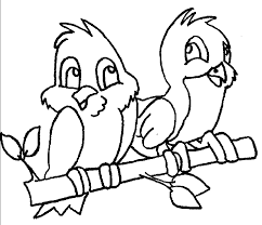 Bird Coloring Pages Great Printable