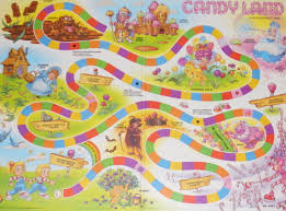 Draw A Board Game Similar To The Candy Land