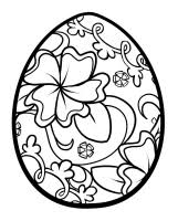 Easter Eggs Printable Coloring Pages 11