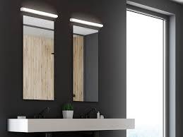 fischer honsel spiegelleuchte 2er set indirekte schminklicht wandleuchten 60cm fürs badezimmer schminklen seitlich als badleuchten zur modernen