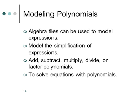 let s work with algebra tiles ppt