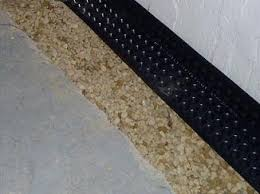 parks plumbing stop seepage with interior drain tile