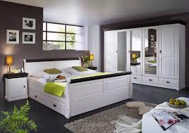 schlafzimmer komplett schrank 5türig bett landhausstil kiefer massiv lanatura