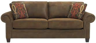 Bobs Benton Sleeper Sofa by Broyhill Furniture Travis Transitional Sofa With Rolled Arms And