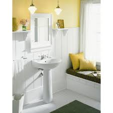 Home Depot Pedestal Sinks Canada by Sterling Sacramento Vitreous China Pedestal Combo Bathroom Sink In