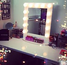 vanities vanity makeup mirror diy ikea light bulb ideas make up