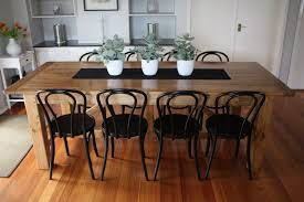 Custom Made Dining Table Bentwood Chairs 6