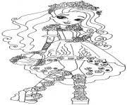 Printable Spring Unsprung Cedar Wood Ever After High Coloring Pages