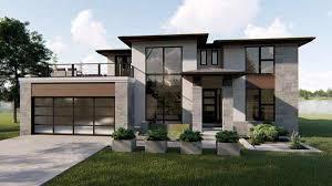 Modern Houseplans Modern House Plan 4 Bedrooms 2 Bath 2499 Sq Ft Plan 52 360