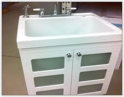 Home Depot Pedestal Sink Cabinet by Laundry Sink Vanity Home Depot Home Design Ideas
