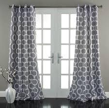 Blue Blackout Curtains Walmart by Interior Design Calming Aqua Blue And White Geometric Curtain