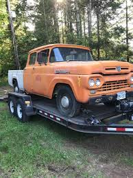 1960 Ford Crew Cab | Bent Metal Customs Classic 1960 Ford F100 Pickup For Sale 2030 Dyler Truck Youtube I Need Help Identefing This Ford Bread Truck Big Window Parts 133083 1959 4x4 F1001951 Mark Traffic Hot Rod Network My Garage 4x4 Trucks Pinterest Trucks 571960 Power Steering Kit Installation Panel Pictures