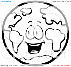 Pin Earth Clipart Coloring Page 14