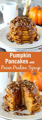Pumpkin Pie With Pecan Praline Topping by Pancakes With Pecan Praline Syrup