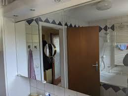 badezimmer spiegelschrank 3 türen mit halogenlen