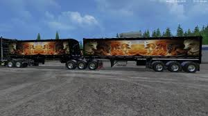 GRAVE DIGGER TRUCK TRAILER VOLVO TRUCK TRAILER FS15 - Farming ...