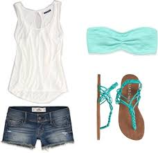 Tank Top Shorts And Cute Sandals Perfect Outfit So Would Wear This