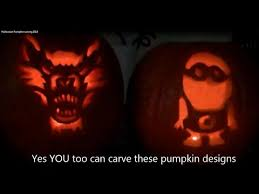 Wolf Pumpkin Carving Patterns Easy by Easy To Carve Pumpkin Designs That You Can Do At Home Plus Links