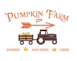 Pumpkin Patch Caledonia Il For Sale by Pumpkin Patch Svg Etsy