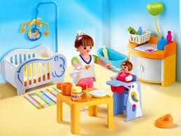playmobil in the city baby s room 4286 iqtoys au