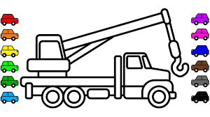 Construction Truck Coloring Pages, Car Colouring Video For Children ... Cstruction Trucks Coloring Page Free Download Printable Truck Pages Dump Wonderful Printableor Kids Cool2bkids Fresh Crane Gallery Sheet Mofasselme Learn Color With Vehicles 4 Promising Excavator For Coloring Page For Kids Transportation Elegant Colors With Awesome Of