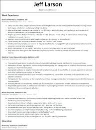 Pharmacy Technician Resume Examples Sample Definition In Hindi