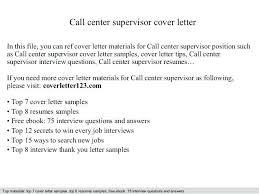 Call Center Supervisor Resume Lovely Resumes Of