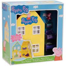 peppa pig deluxe playhouse playset