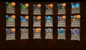Shaman Overload Deck Loe by Best Shaman Deck Hearthstone Radnor Decoration