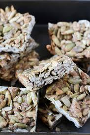 Pumpkin Seeds Glycemic Index by 5 Ingredient Pumpkin Seed Bars Healthy Gluten Free