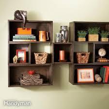 box diy shelves family handyman